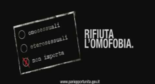 17 Maggio: Giornata mondiale contro l'omofobia.