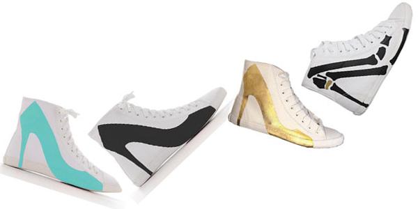 Indecise tra scarpe da ginnastica o tacchi? Scegliete entrambi