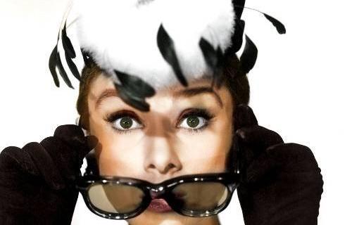 Gli occhiali di Audrey Hepburn