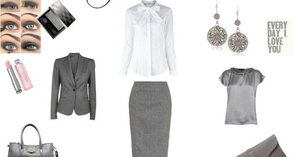 Un amore di grigio. Outfit in grigio, perfetto in ogni momento della giornata.