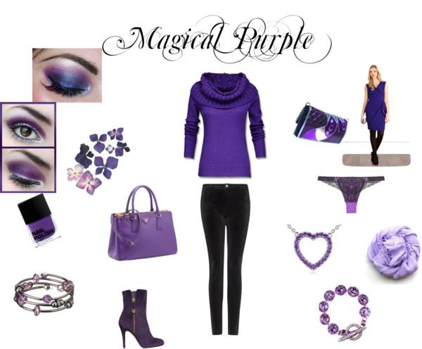Viola, il colore della seduzione