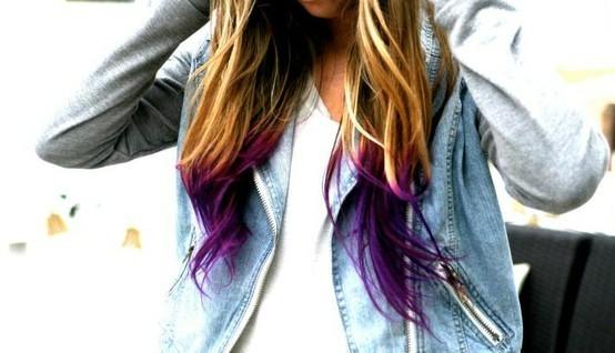 Dip-Dye Hair: quando la moda colora anche i capelli