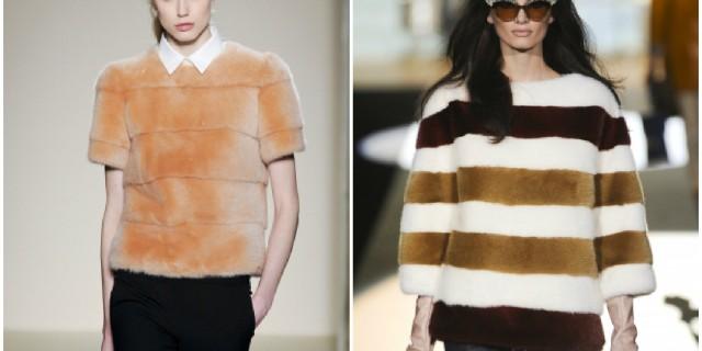 Abbigliamento furry. L'ultimo must have di stagione è la t-shirt in pelliccia!