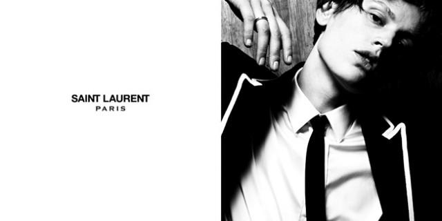 Yves Saint Laurent sceglie una donna per la campagna pubblicitaria menswear