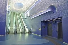 A Napoli lo scettro per la metropolitana più bella d'Europa