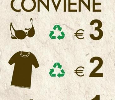 Intimissimi ricicla il tuo intimo usato in cambio di buoni sconto
