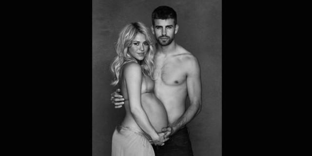 Il pancione di Shakira per l'Unicef