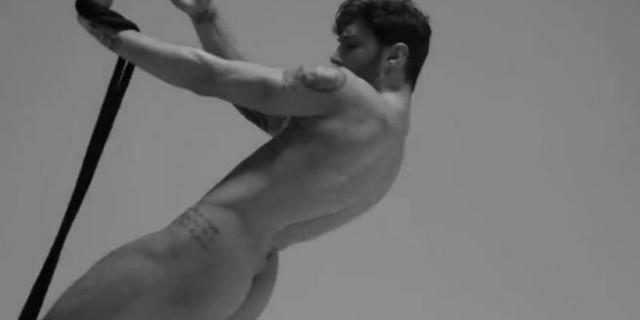 Stefano De Martino foto di un nudo integrale