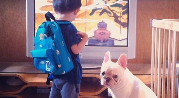 La storia d' amore tra un bambino e il suo cane [FOTO]