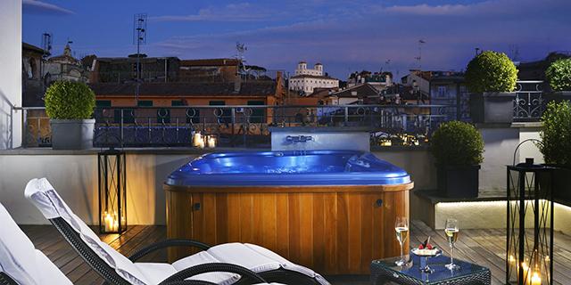 Design Hotel Il Berg Luxury Hotel Di Roma : Gli hotel più romantici per la magica notte di san