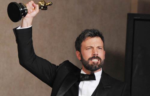 La notte degli Oscar 2013.