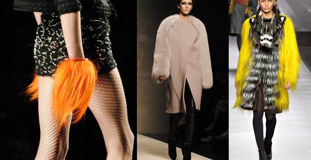 Trend 2013: le pellicce da portare tutto l'anno
