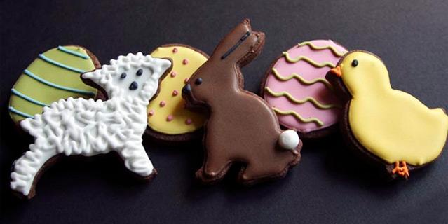 Ricetta biscotti di Pasqua glassati