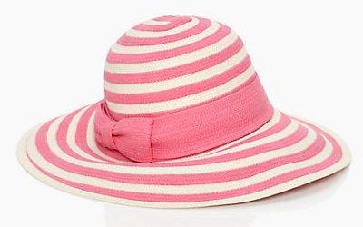 cappello-righe-corallo