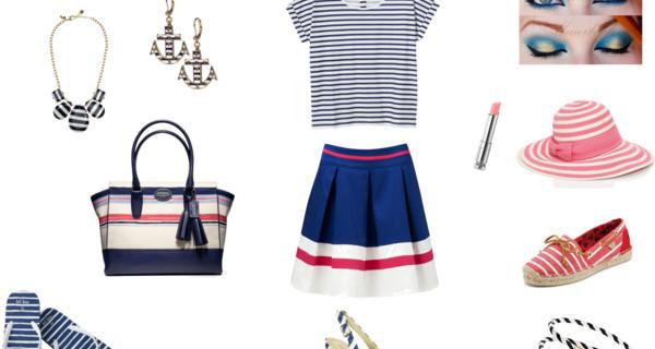 Primavera/estate 2013: un outfit in riga!