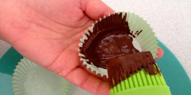 cioccolato spennellato