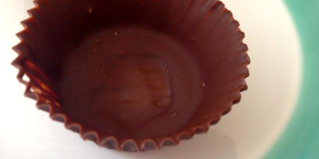 gusci di cioccolato