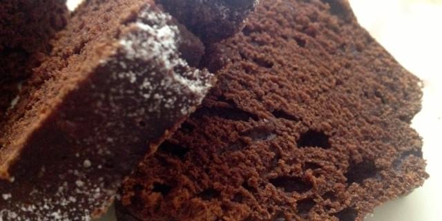 Plumcake stregato al cacao