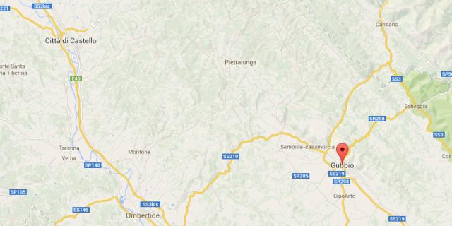 Violenta scossa di terremoto in Umbria