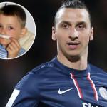Bambino malato di leucemia vuole incontrare Ibrahimovic: lui è troppo occupato