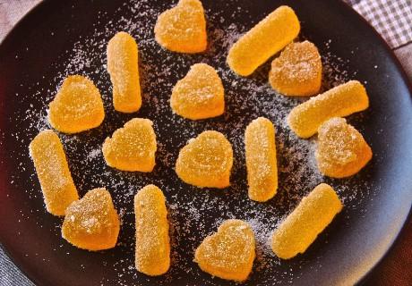 Ricetta caramelle gelatine all'arancia