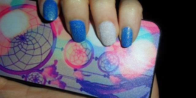 Tutorial nail art effetto peluche
