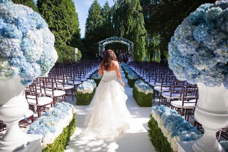 Azzurro Fiordaliso Matrimonio : Matrimonio abbinamenti di colore classici e non roba da