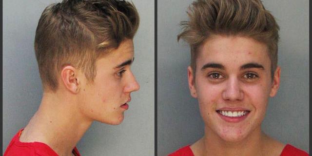 Justin Bieber: foto e video dopo l'arresto