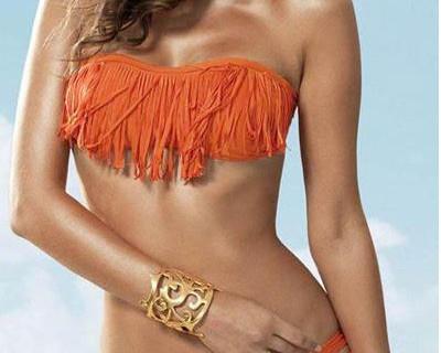 Frange sul bikini. Tendenze Summer 2013