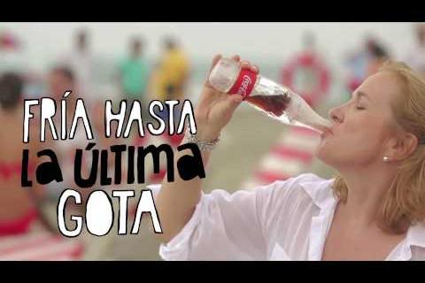 La nuova bottiglia di ghiaccio della Coca Cola