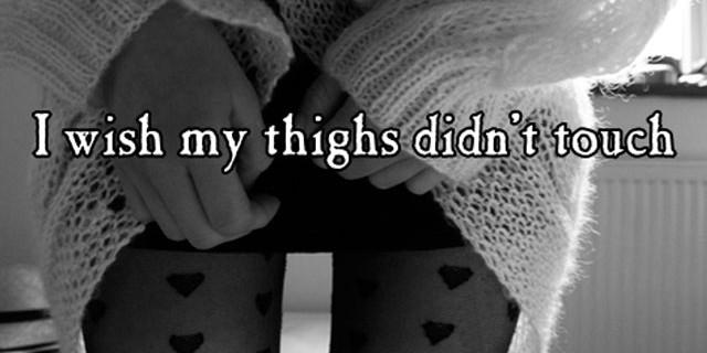 """Arriva la moda del """"thigh gap"""". Quando essere magre diventa ossessione."""