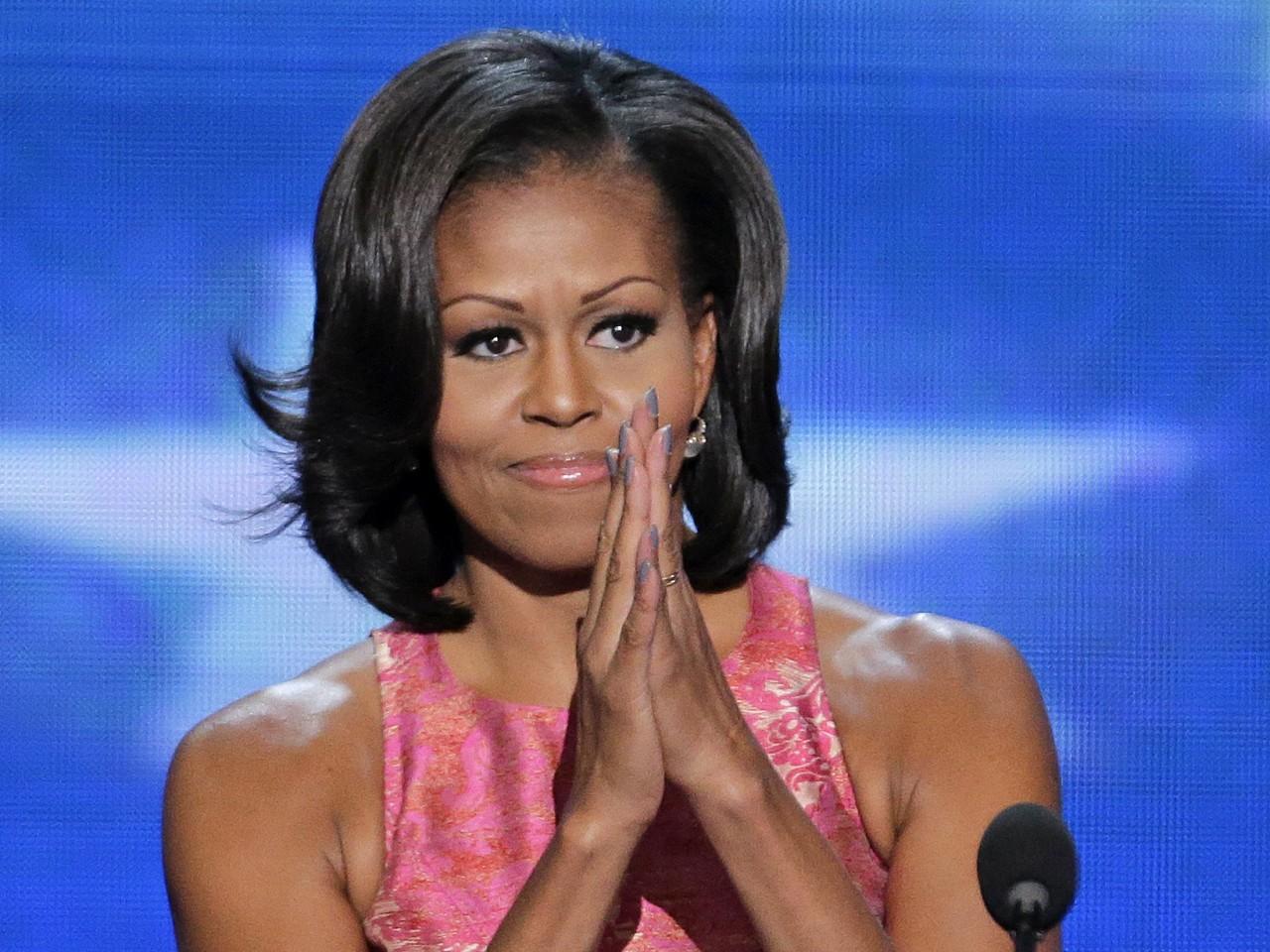 La festa per i cinquant'anni di Michelle