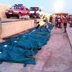 Tragedia di Lampedusa, riprendono le ricerche. Il bilancio dei morti è destinato a salire.