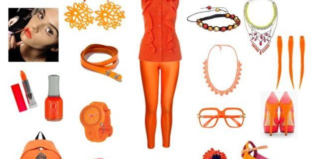 Primavera estate 2013: i colori fluo – speciale arancio