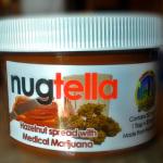 Nugtella: crema di nocciole spalmabile a base di Marijuana