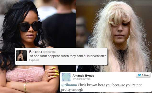 """Rihanna picchiata """"perchè brutta!"""" La sua nemica numero 1 difende Chris Brown"""