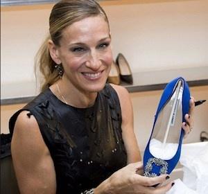 Sarah Jessica Parker lancia la sua linea di scarpe per Manolo Blahnik!
