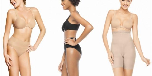 La lingerie modellante per tutte le taglie