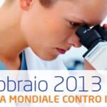 4 febbraio: giornata mondiale contro il cancro