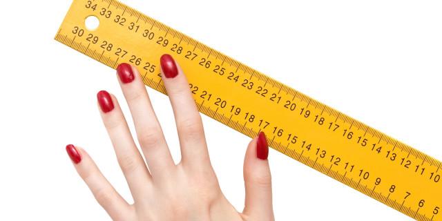 Le dimensioni contano: ecco i numeri della virilità