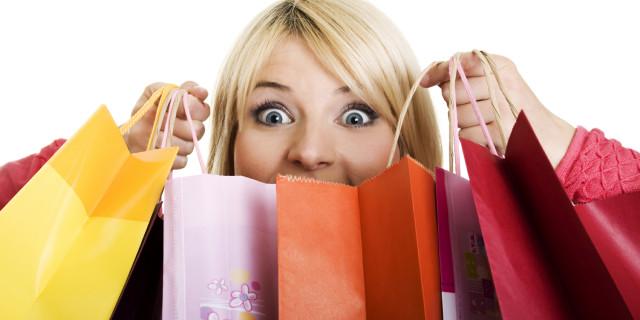 Shopping contro l'ansia: chi compra di più vive più a lungo