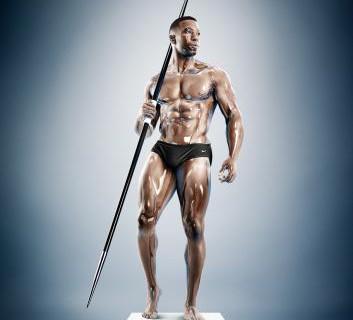 """""""Sculpture Athletes"""": gli atleti trasformati in statue [FOTO]"""