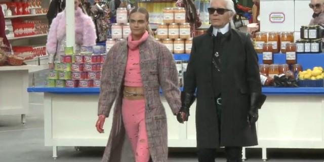Chanel colpisce ancora ma al supermarket
