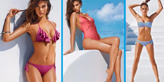 Come scegliere il modello di costume pi adatto al tuo - Costumi da bagno fisico a pera ...