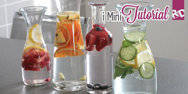 Dieta Purificante Con L'Acqua Detox: Come Prepararla A Casa [Tutorial]