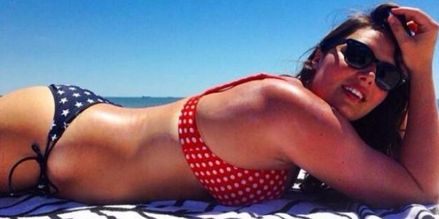 20 foto che ti faranno capire perchè Candice Huffine sarà su calendario Pirelli