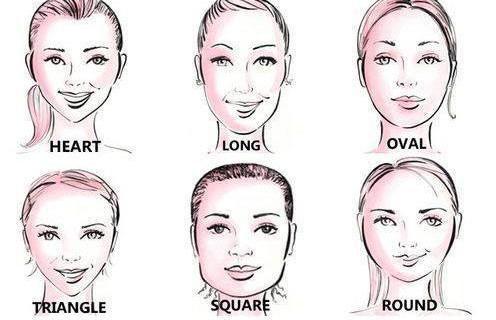 Taglio di capelli su viso lungo