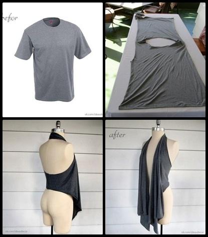 Come creare un guardaroba completamente nuovo con i vecchi vestiti roba da donne - Diy ideas repurposing old clothing ...