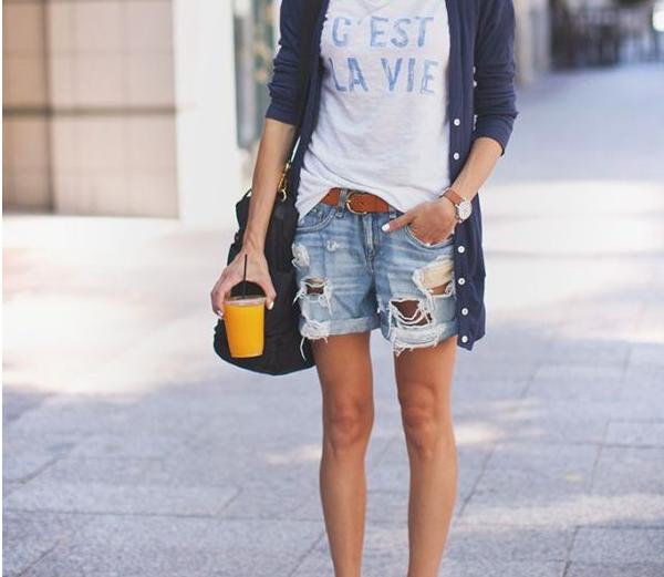 shorts per donne con cosce grosse