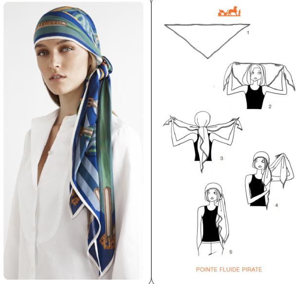 10 Semplici Modi Per Indossare Il Foulard Nei Capelli - Roba da Donne 4343c0a7f23